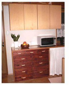 木製取っ手で、台所のプチリフォームをしました!(N様)