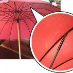 娘から買ってもらった大事な傘が折れてしまいました。(ピーチク様)