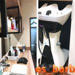 ハサミで自在に切れるし応用が効く商品で気に入りました(es_barber様)