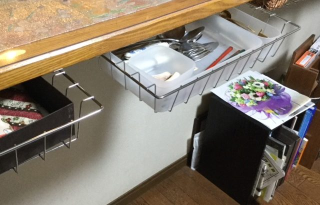 キッチンカウンターが時間が経つと 物置きになってしまうのが悩みでした(yukie様)