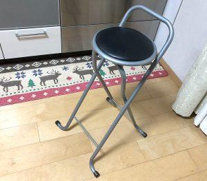 パイプ椅子カバーを着けるだけ!パイプ椅子で床にキズをつけない方法