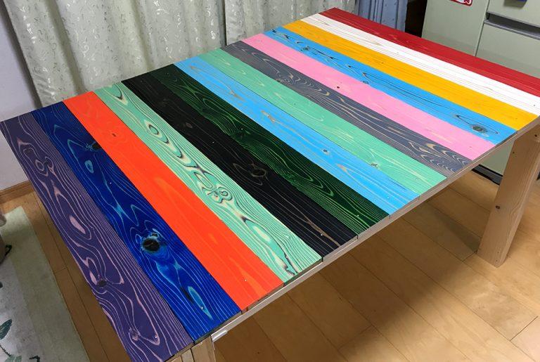 DIYでダイニングテーブルを作ってみよう!(最終回)