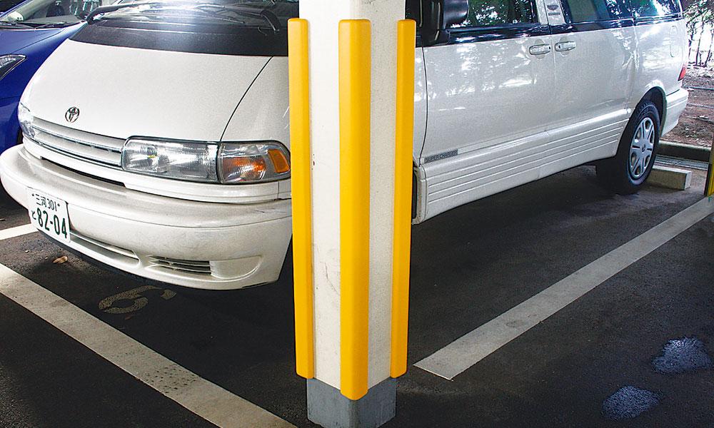 駐車場クッション材