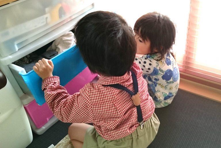 子供が自分で支度する、幼稚園・保育園グッズの収納棚をDIY【第1回】