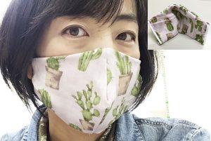 洗濯できる!縫わない手作りマスク。ミシン&アイロン&型紙なしでDIY