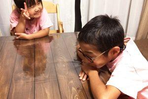 DIYで折りたたみローテーブルを作ろう!【仕上げ編】