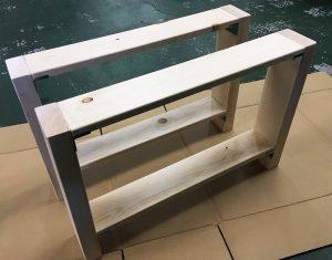 DIYで折りたたみローテーブルを作ろう!【テーブル脚編】