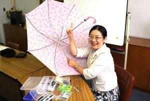 壊れた傘を自分でカンタンに直す方法