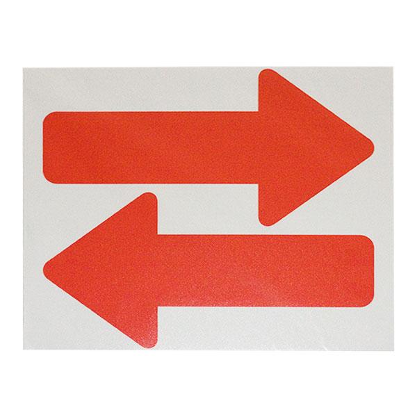 フロア誘導サイン FUD325〈赤い矢印〉