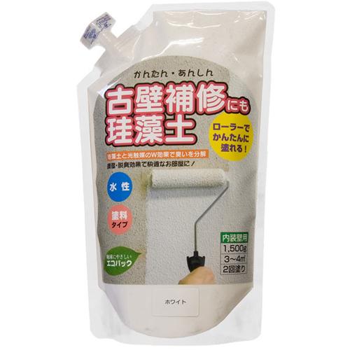 珪藻土 単品・追加用 1.5kg ホワイト