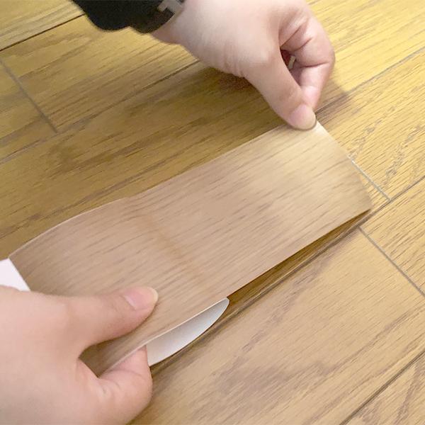 【フローリング用】キズかくしテープ ライトブラウン RKT-05