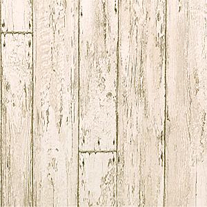 貼って剥がせる壁紙シート『デコマ』のオールドホワイトウッド