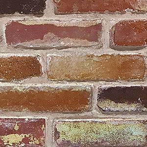 貼って剥がせる壁紙シート『デコマ』のオールドブラウンブロック