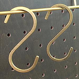 真鍮Sカン 大 ANB-719 2個入り