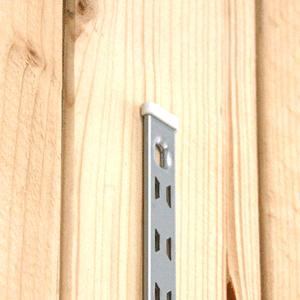 リーフ棚柱エンドキャップ〈白〉