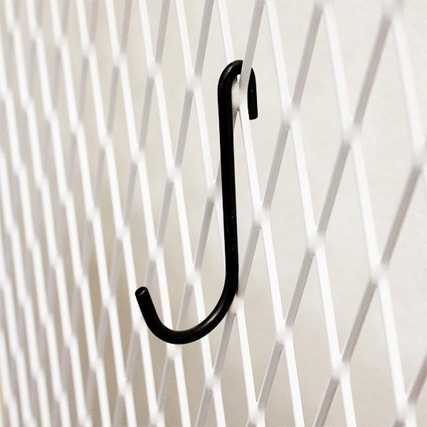 ラスティパーツ J型フック黒