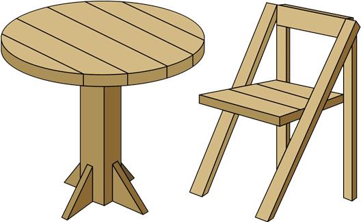 床への設置面が大きいイスやテーブルにも使えます!