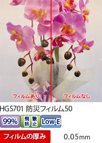 防災フィルム50写真