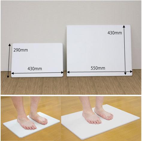 レギュラーサイズとのサイズ比較