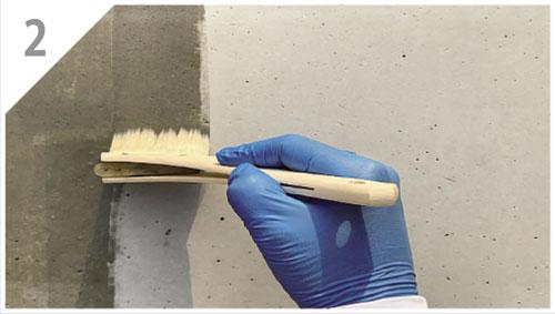 石材用のコーティング剤の使い方2