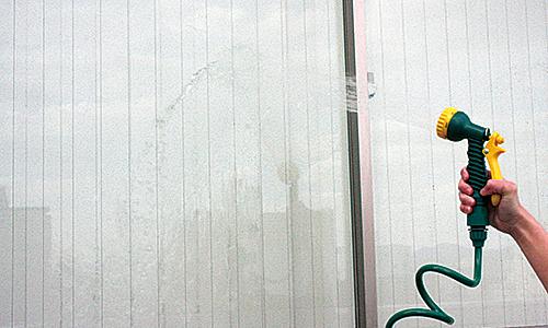 ガラス用のコーティング剤の使い方1