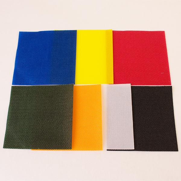 網戸デコレーションに特化した 7色のカラフルな網戸パッチ