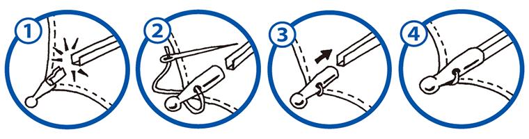 つゆ先の修理方法
