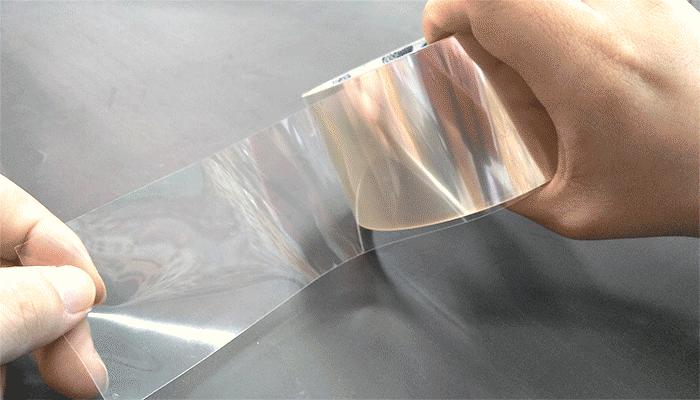 ガラス飛び散り抑止テープ
