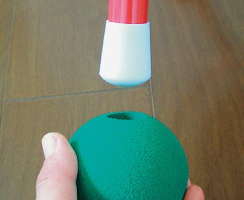 豆イスボールの取り付け方