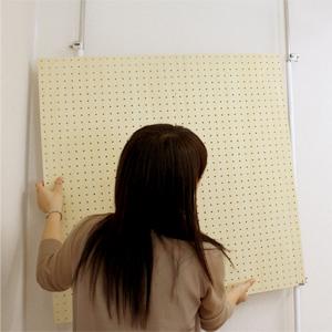 壁に穴をあけずに設置できるので賃貸住宅でも安心