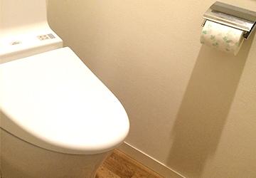 トイレ掃除も楽になる